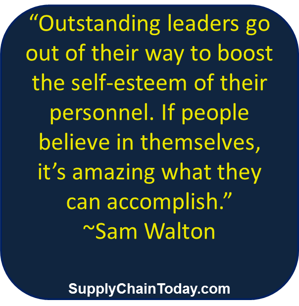 Sam Walton WalMart CEO and Supply Chain guru