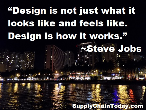 Steve Jobs Apple Supply Chain quote