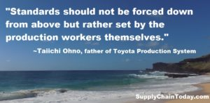 Toyota Production System TPS Taiichi ohno quote