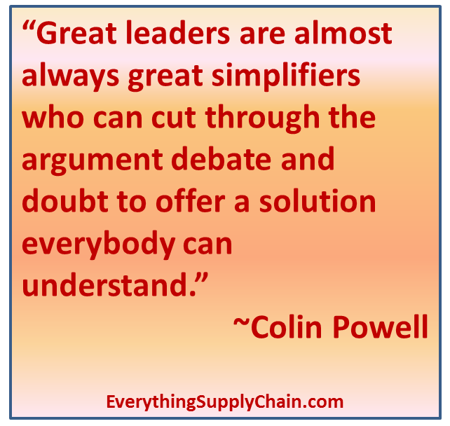 leadership colin powell Colin powell on leadership i recently ran across this presentation by colin powell i believe the lessons are timeless lesson 1 – being responsible sometimes means pissing people off.