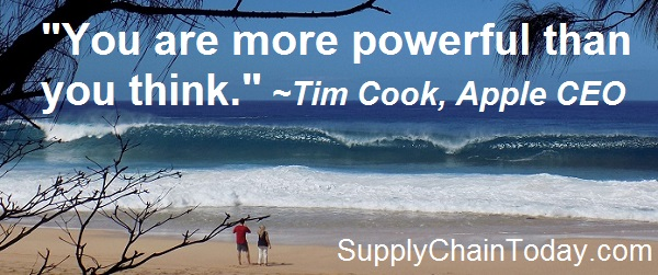Tim Cook Apple's Supply Chain CEO