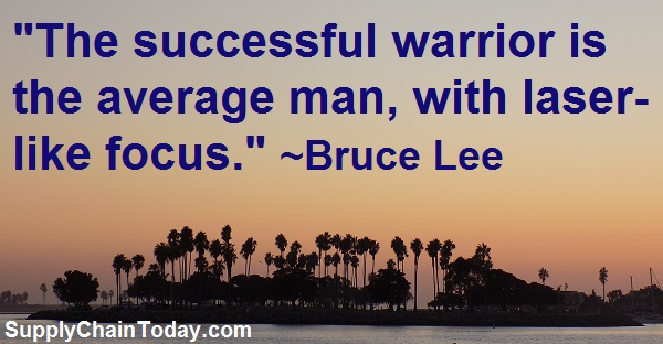 bruce lee warrior quote