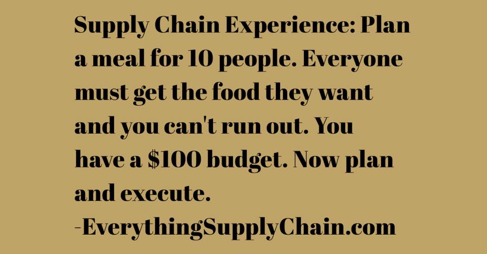 Supply Chain 101
