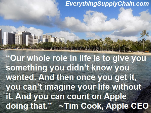 steve jobs tim cook supply chain