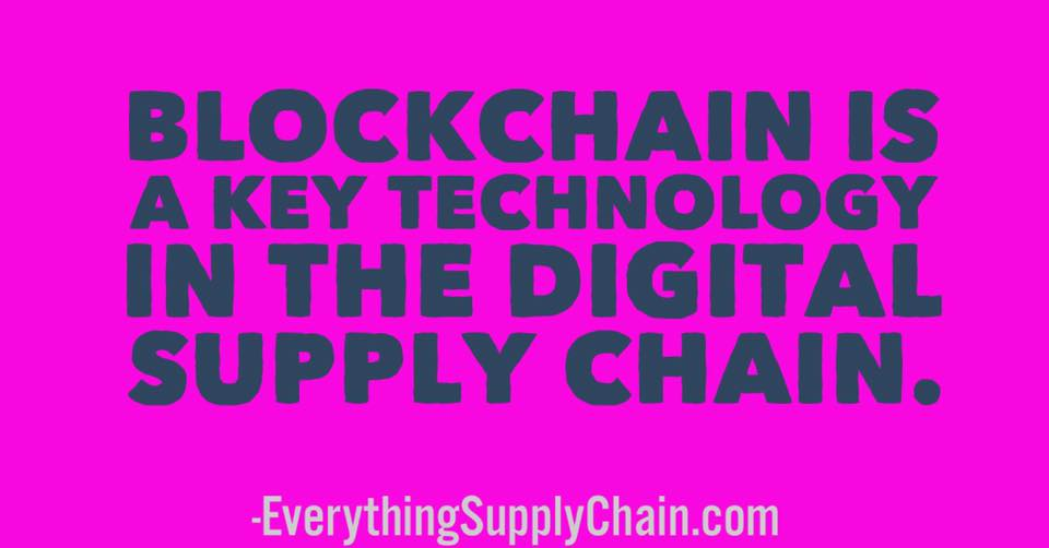 blockchain digital supply chain