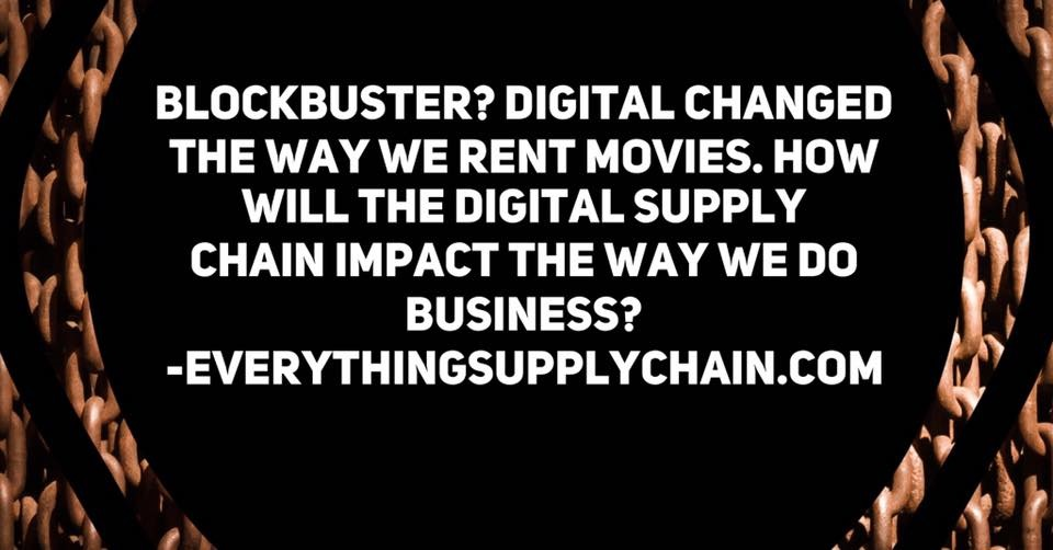 supply chain automation digital disruption
