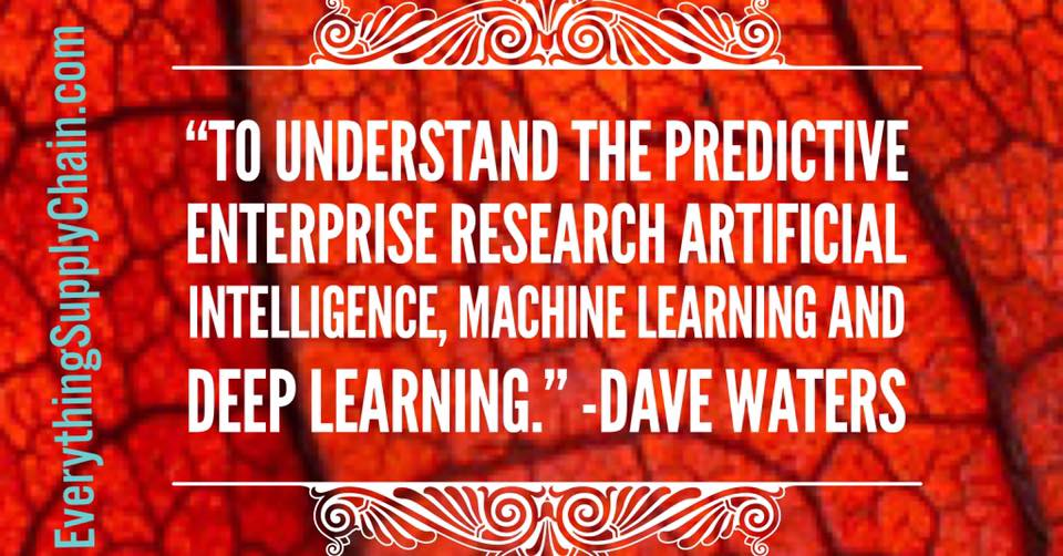 artificial intelligence Predictive enterprise machine learning quotes deep learning