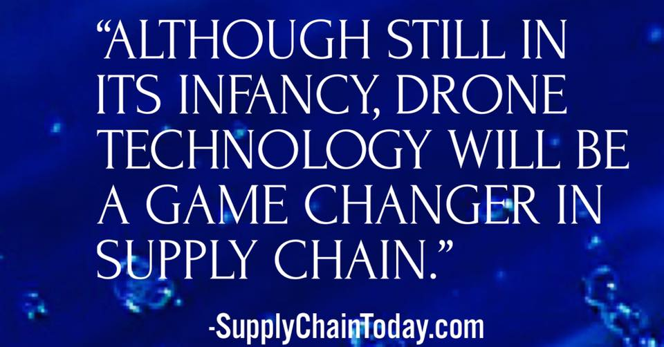 drones supply chain