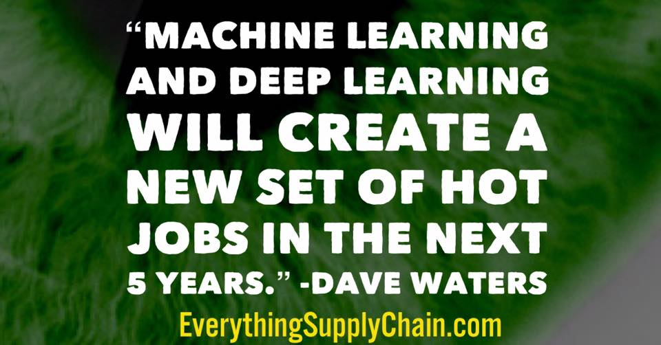 machine learning digital supply chain deep learning