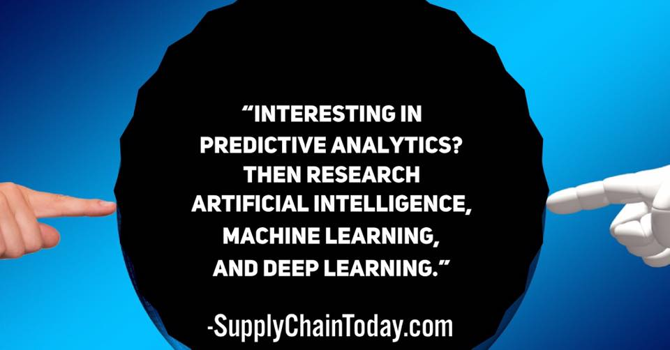 digital supply chain machine learning