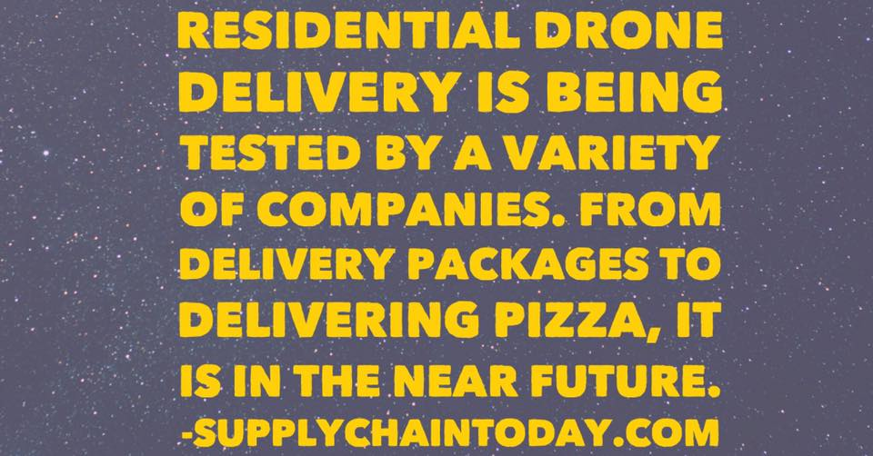 supply chain amazon prime air