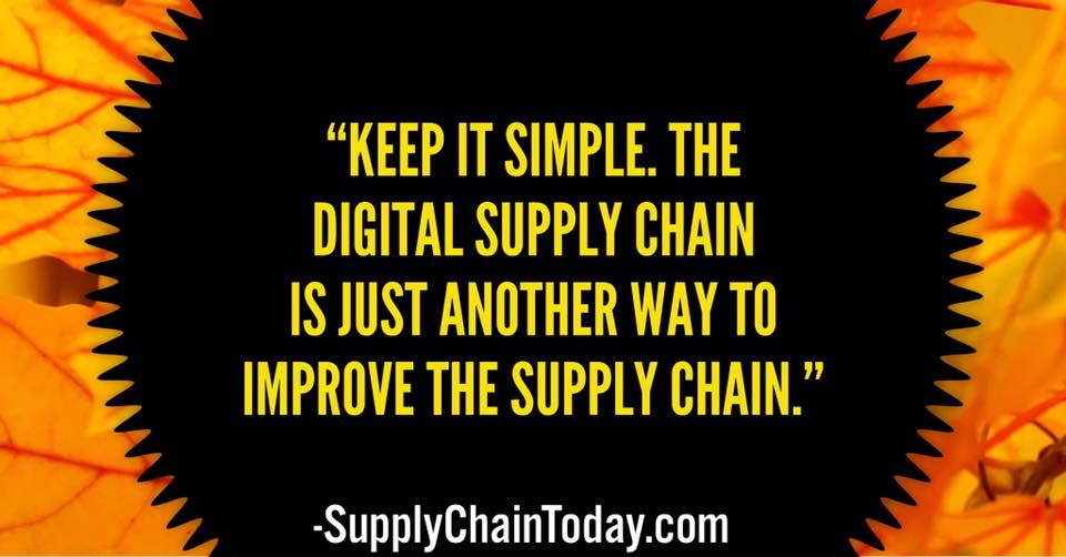 on't tweak your supply chain