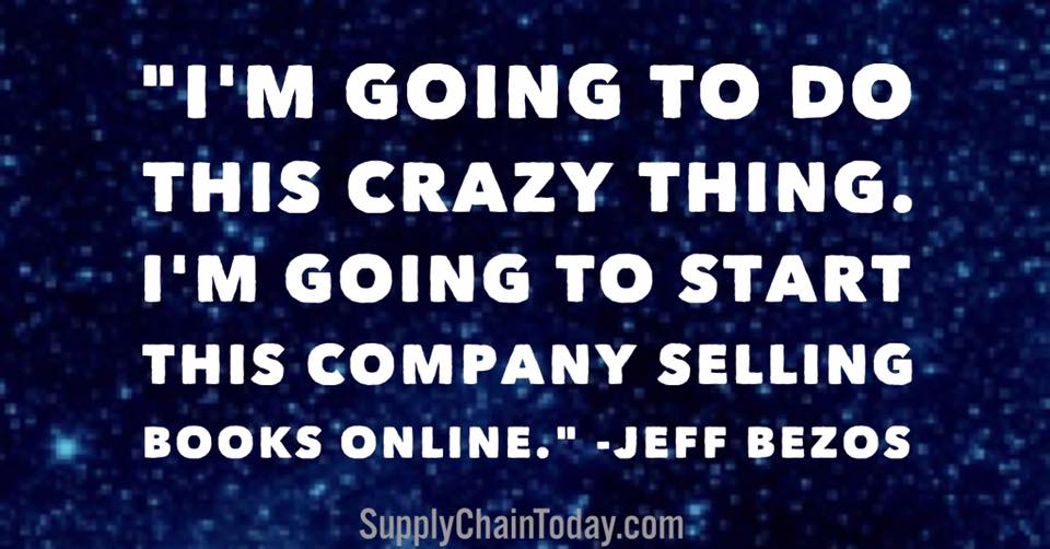 Supply Chain Automation Jeff Bezos