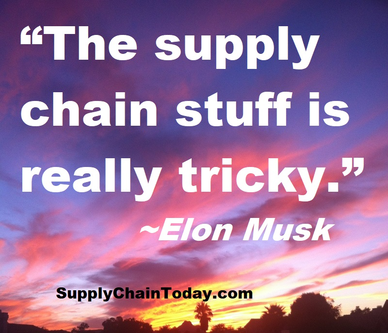 Elon Musk Supply Chain
