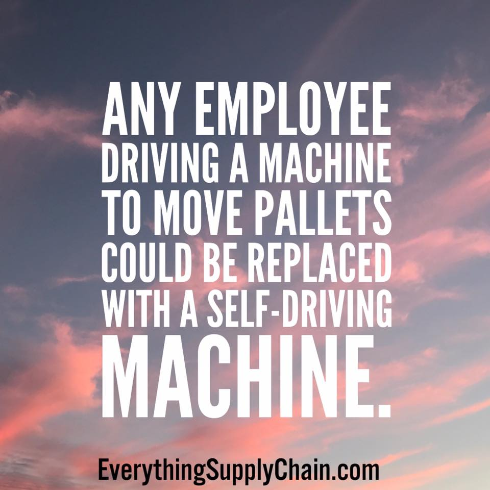 self driving machine supply chain