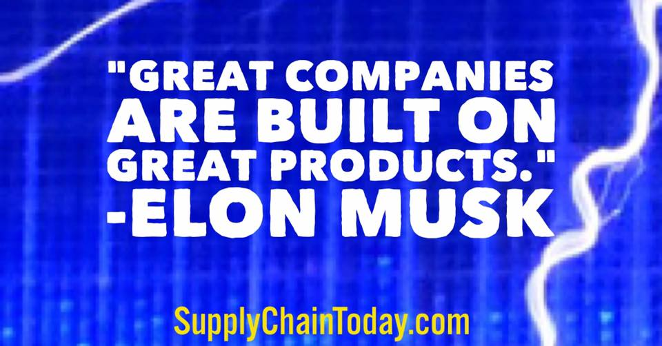 Elon Musk Quotes Tesla Supply Chain