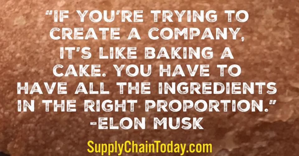 Tesla Supply Chain Elon Musk