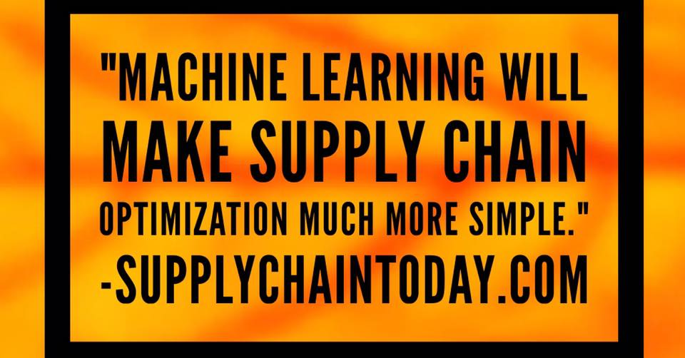 Machine Learning supply chain
