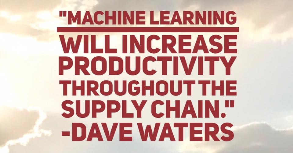 supply chain machine learning