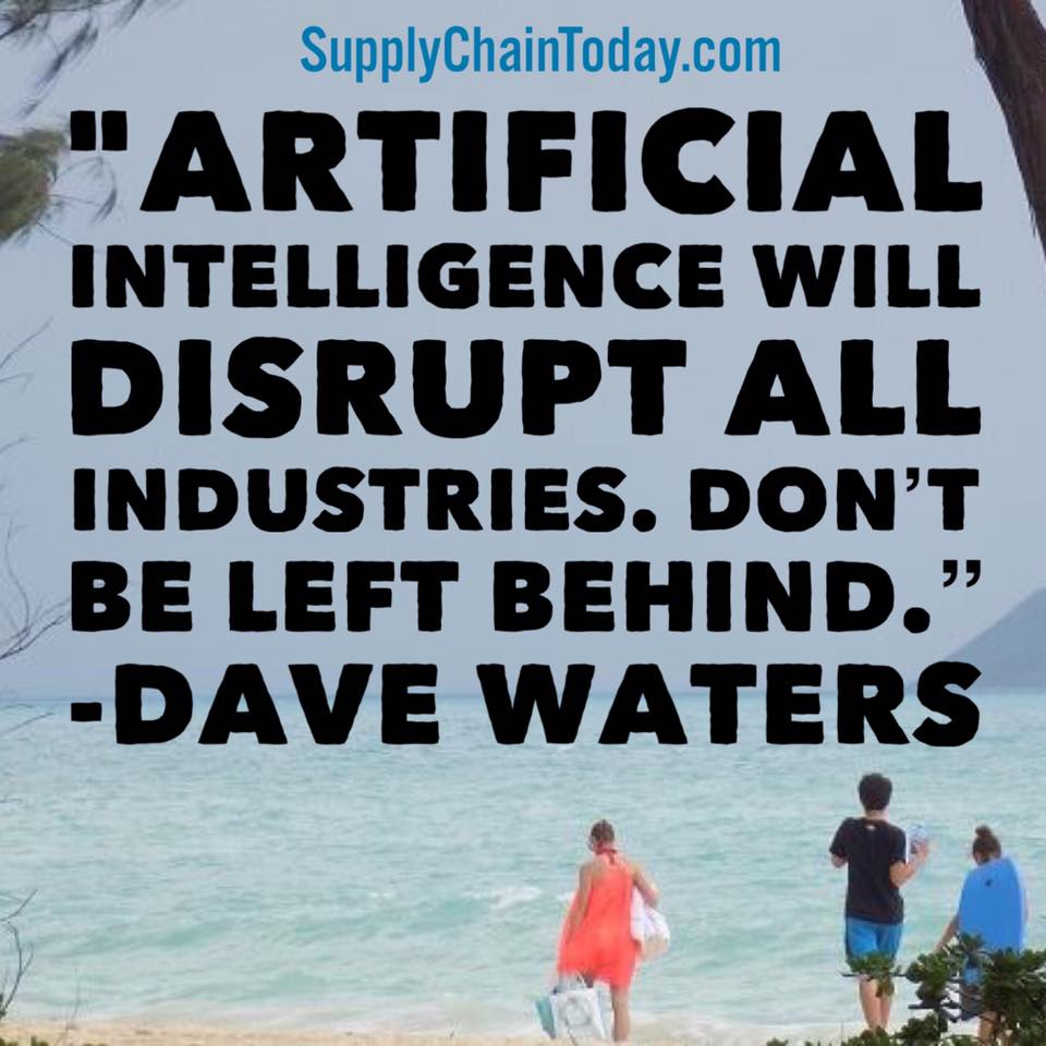 artificial intelligence disruption