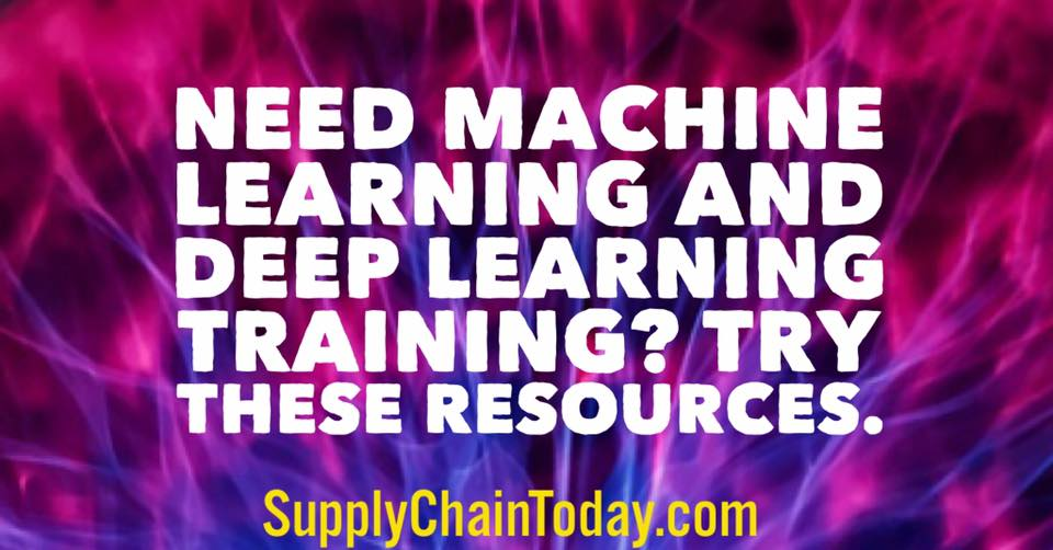 deep learning machine learning training