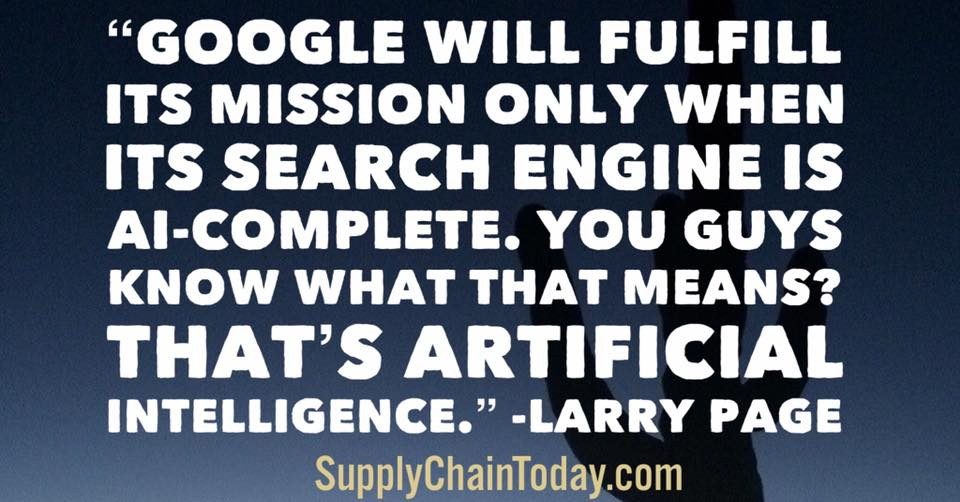 larry page artificial intelligence quote