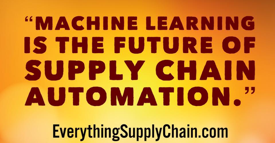 machine learning automation supply chain
