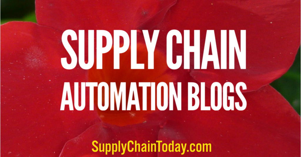 Supply Chain Automation Blogs