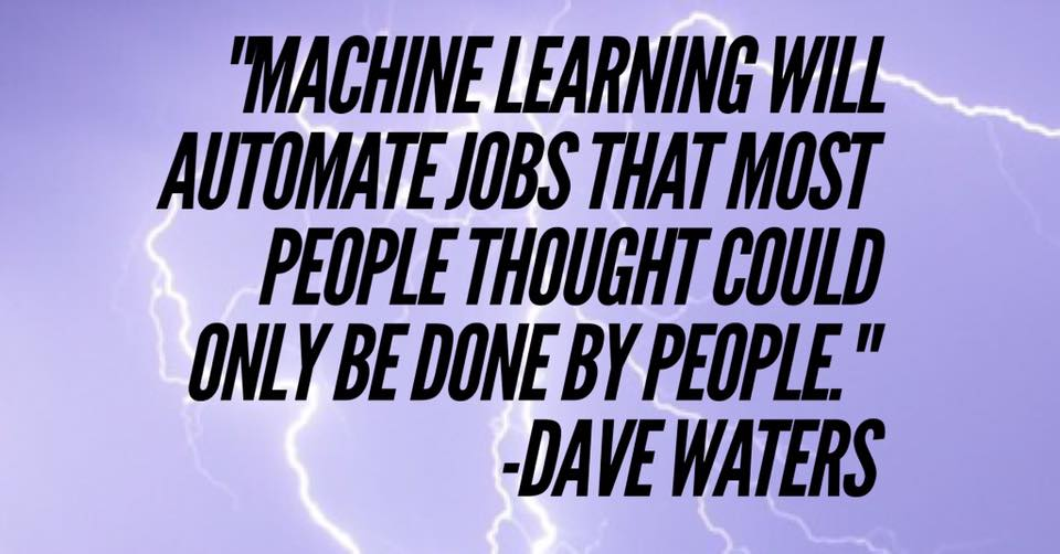 Machine Learning Quotes Training Included